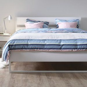 IKEA MOSSFLOX King Duvet cover and pillowcases